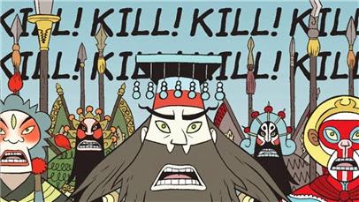 Army of Opera Gods going Kill Kill Kill