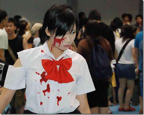 blood+ cosplay - otonashi saya 2