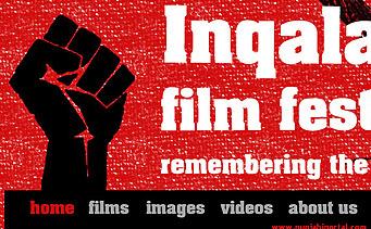 Inqalaab Punjabi Film Festival Web Design