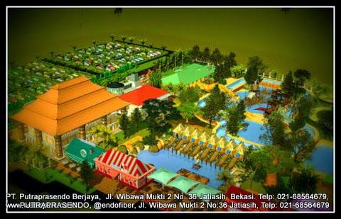 3D waterpark Bali