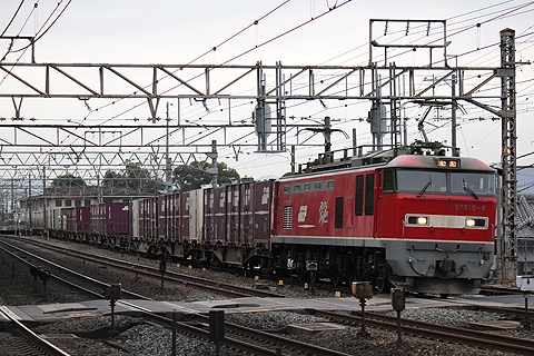 JR貨物 EF510系電気機関車&貨車