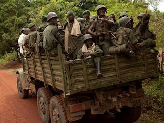 Les FARDC en patrouille dans l'Est de la RDC. Photo MONUC/Marie Frechon