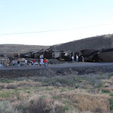Mesa Coal Train Derailment 7/2/12 - Tony Eveland photo credit