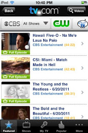 TV.com App Screenshot 01