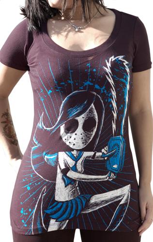 scoop tee, goth tshirt, punk tee, eechi tee, ecchi shirt, oshare shirt, emo black shirt, jrock black shirt