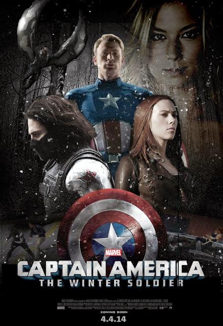 Ο Στρατιώτης Του Χειμώνα Captain America: The Winter Soldier Poster