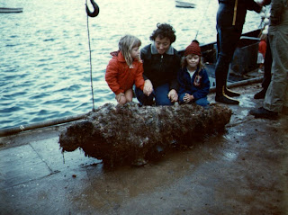 13 April 1968 - Recovery of the Cannon found at Apollo Bay Victoria - Lesley Ryan , Vivienne Ryan & Jenny Ryan