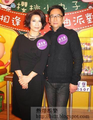 蔣志光與韋綺姍到商場獻唱首本名曲。