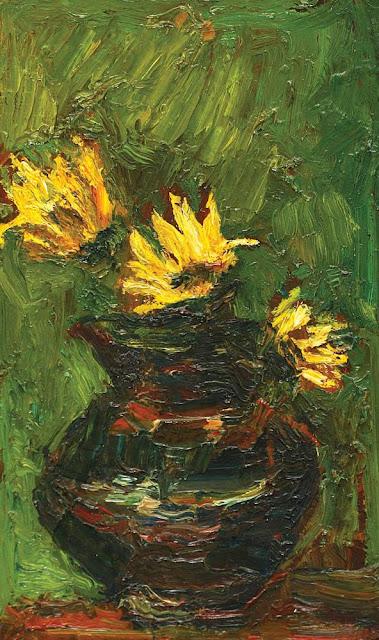 Rudolf Schweitzer-Cumpăna - Ulcică cu flori