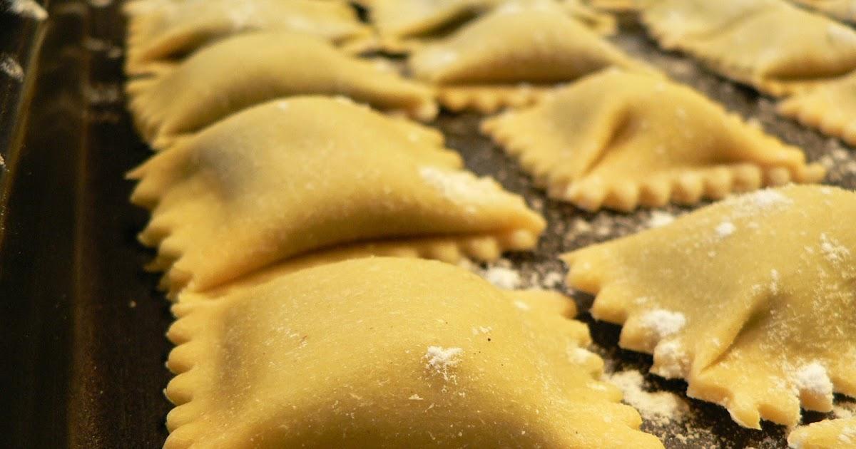 how to make fresh pasta dough for ravioli
