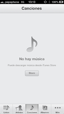 Canción gris al sincronizar Iphone 5 con Itunes