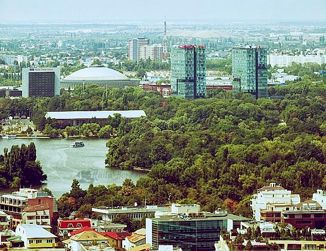 romexpo herastrau sky tower panorama