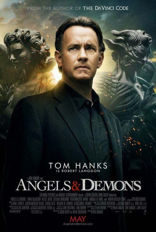 Poster Of Angels & Demons (2009) Full Movie Hindi Dubbed Free Download Watch Online At Alldownloads4u.Com
