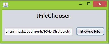 tutorial menggunakan jfilechooser di Netbeans Java