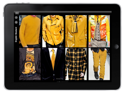 Fashion Industry First! Trendstop iPad