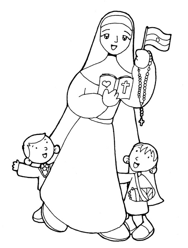 Crescencia Pérez coloring pages