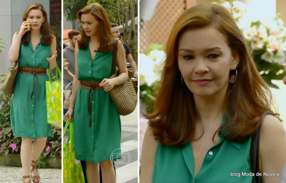 moda da novela Em Família - look da Helena dia 3 de julho