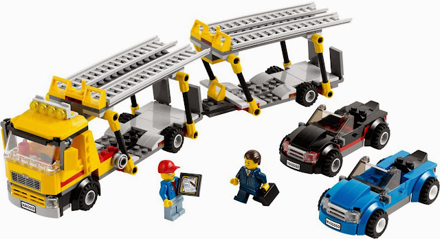 Bộ xếp hình Lego 60060 Auto Transporter sống động đẹp mắt