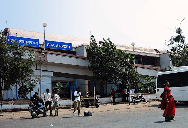 Goa airport building