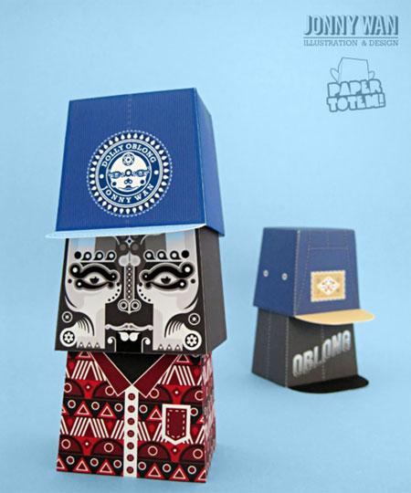 Paper Totem Jonny Wan P2