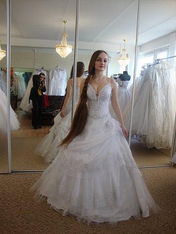 Longhair model Wedding Hairstyles