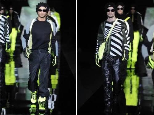Looks Esportivos – Emporio Armani Semana de Moda Milão Outono Inverno 2011