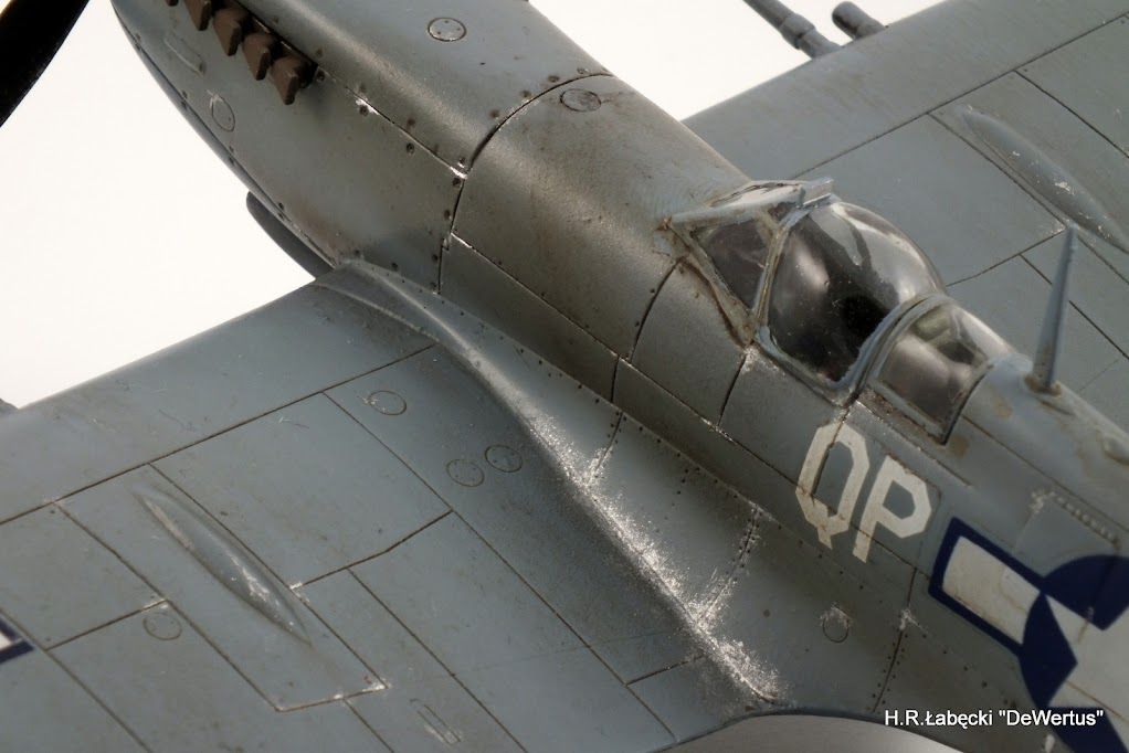 Malta/Sicily 1943; Spitfire Mk.IXc 2FS/52FG; Italeri 1/48 DSCF3810