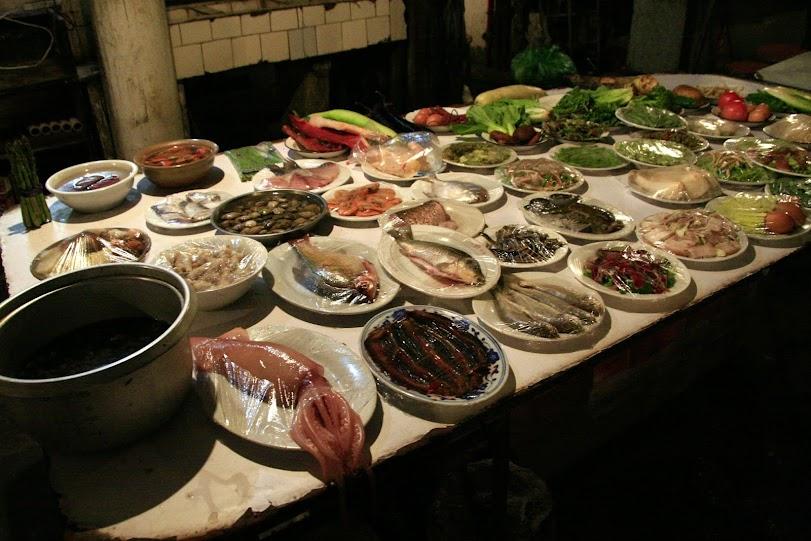 Китайская кухня блюда Шанхай 2011