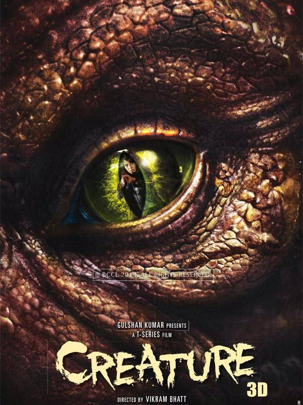 Poster of Bollywood horror film Creature directed by Vikram Bhatt and starring Bipasha Basu.