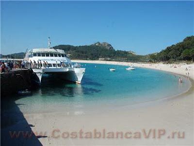 Islas Cies, Острова Сиес, Galicia, Галисия, туризм, отдых, CostablancaVIP
