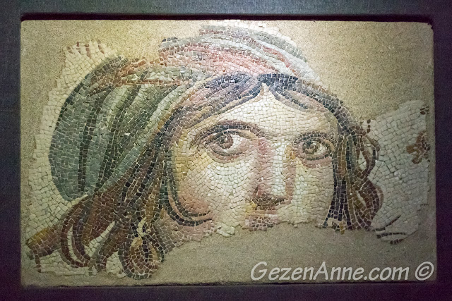 Çingene Kızı mozaiği, Zeugma Müzesi Gaziantep