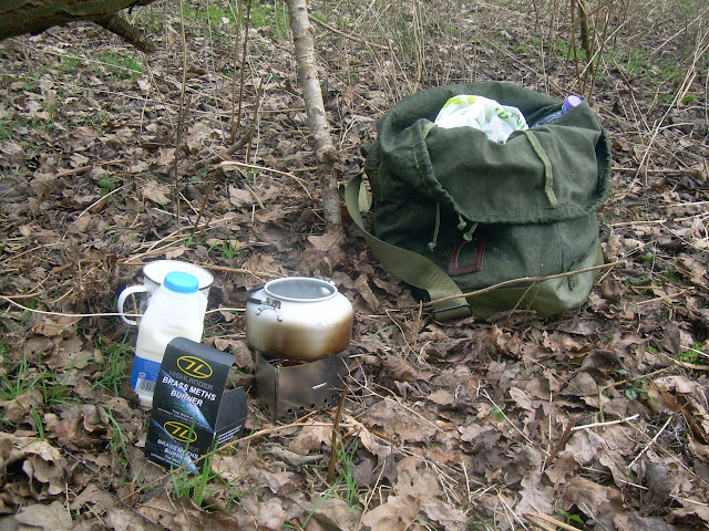 A cuppa tea in the woods