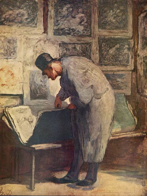 Honoré Daumier - The Print Lover
