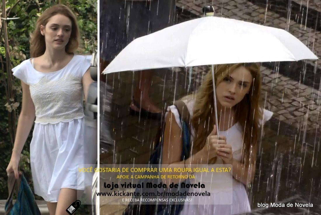 moda da novela Sete Vidas, look da Julia dia 14 de março de 2015