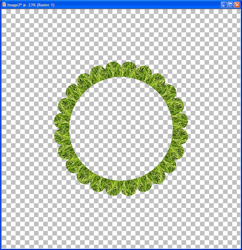 Humbug Graphics Galore: Round Scalloped Frame