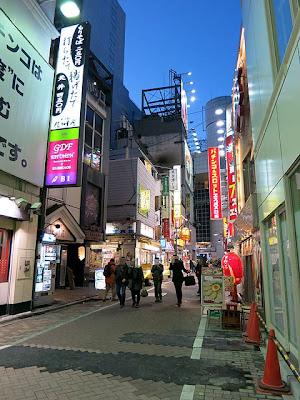 パンチョ渋谷のある通り