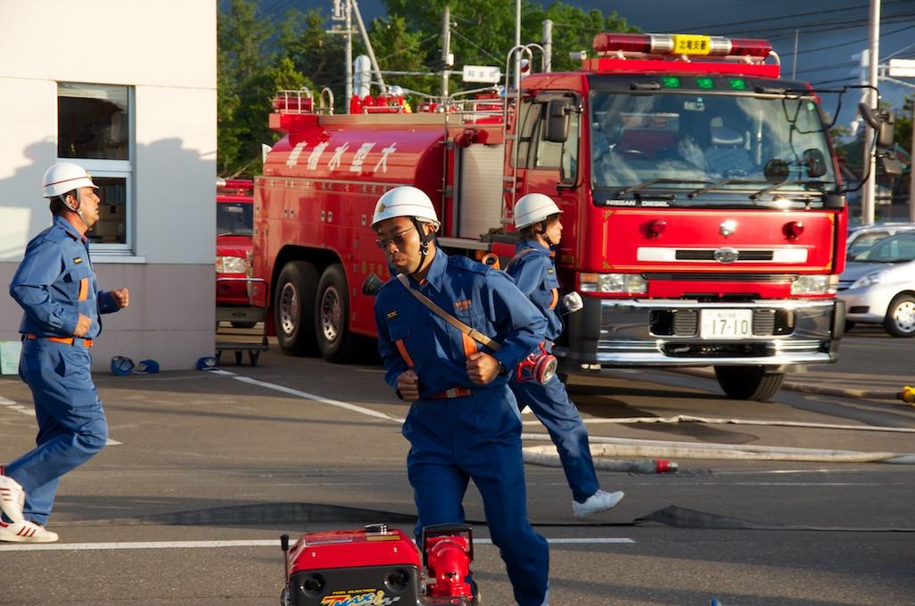 消防署 深川 北竜消防(深川地区消防組合 深川消防署