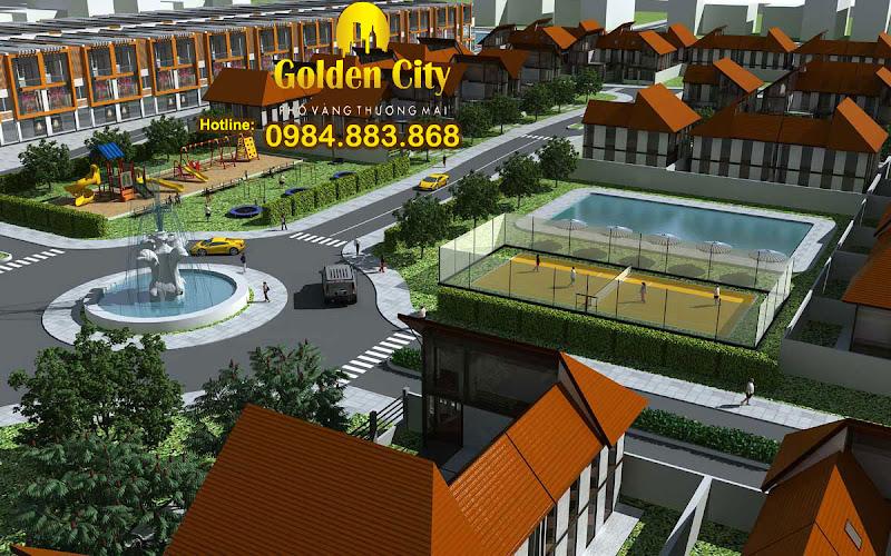 Golden City - Phố vàng thương mại