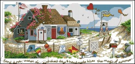 The Magic of Summer cross stitch patterncross stitch pattern