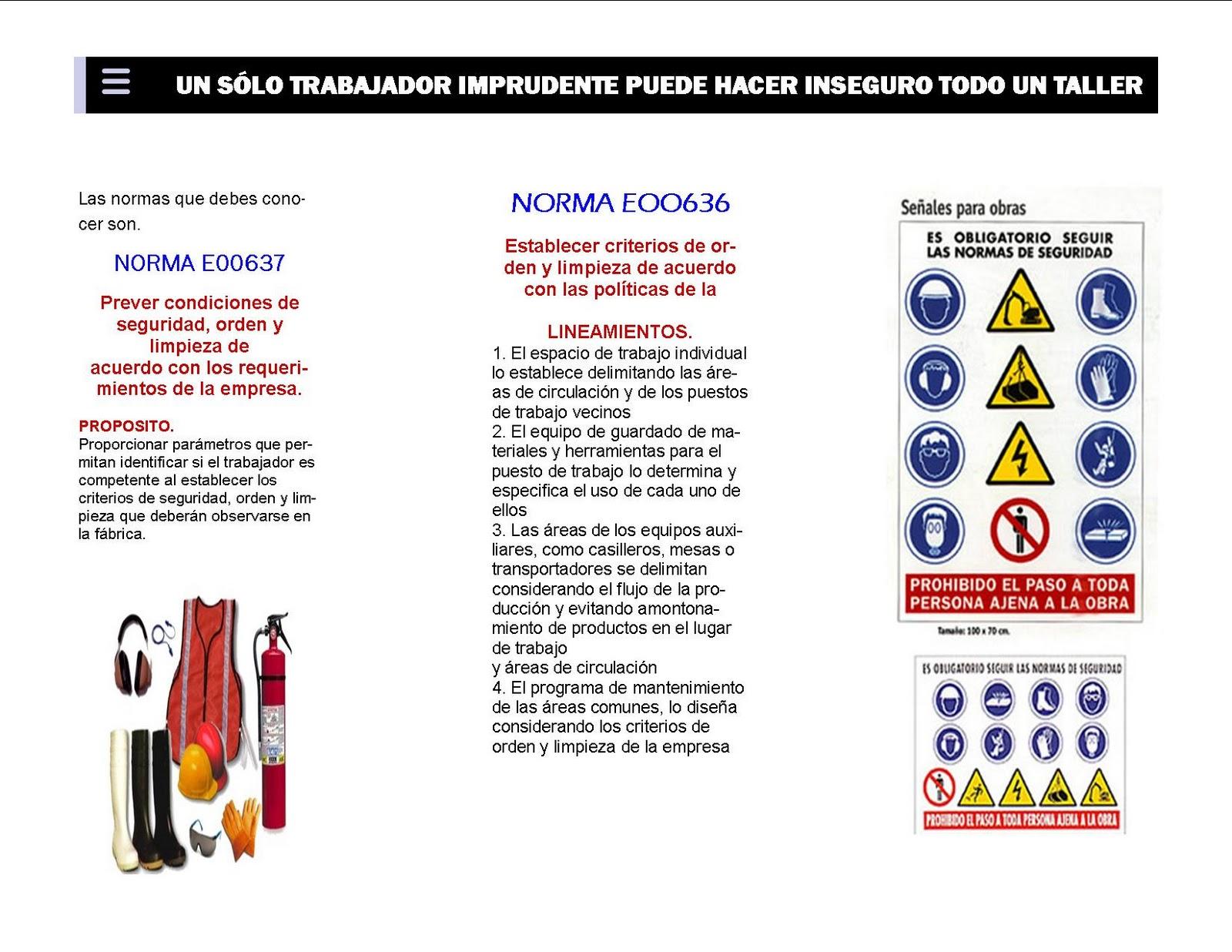 franciscojavierzarate: Triptico de seguridad e higiene tarea Alejandra