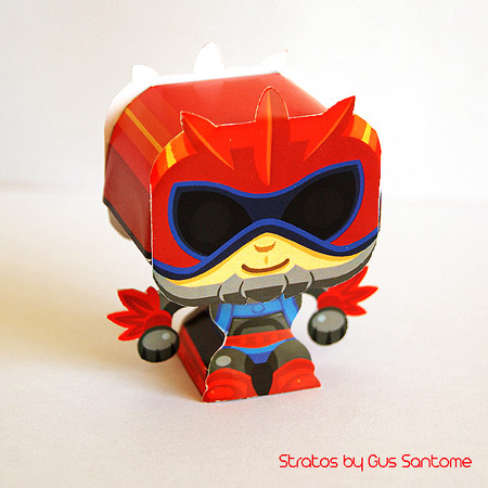Mini Stratos Papercraft