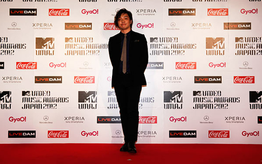Daichi Miura on the red carpet | MTV Video music awards Japan 2012