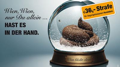 Cartel promocional de la campaña del Ayuntamiento de Viena