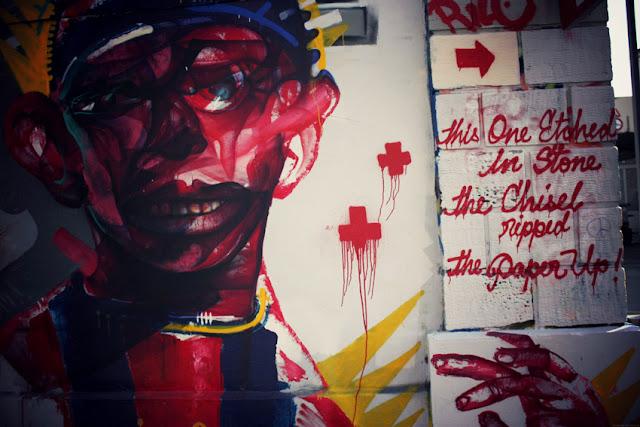 Street Art paris entrepôt RATP