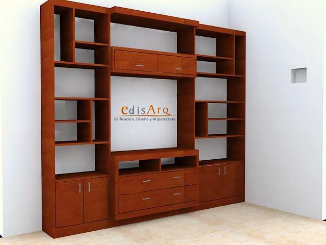Edisarq arquitectura y mobiliario libreros y centros de for Muebles de oficina k y v