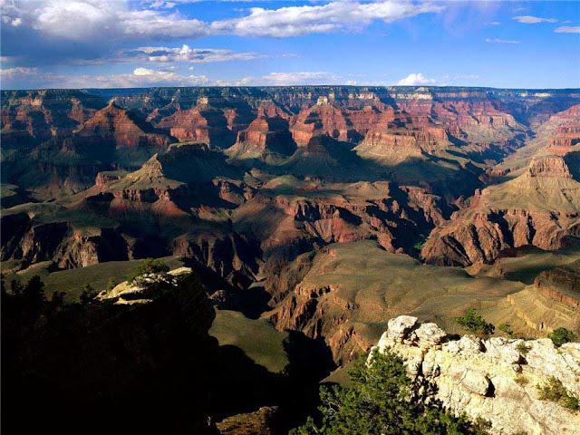 Национальный парк Большой каньон. Фото.