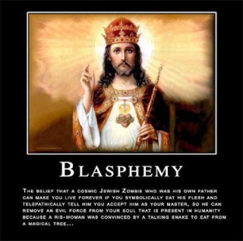 Blasphemy Violates No Ones Rights