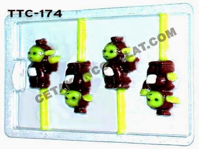 Cetakan Coklat TTC174 Teletubbies Tinky Winky