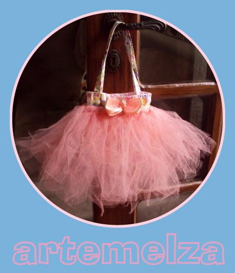 artemelza - bolsinha bailarina