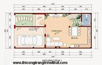 Tư vấn thiết kế nhà phố 6×13 của anh Long Bình Dương - THI CÔNG TRANG TRÍ NỘI THẤT